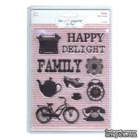 Набор акриловых штампов Girl's Paperie - Kitch Collection