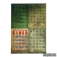 Мини-блокнотик Tim Holtz District Market - Matchbook Notepad - Bingo