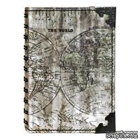 Блокнот Tim Holtz District Market - Spiral Journal Small - Atlas