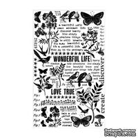 Натирки Tim Holtz - Ideaology - Remnant Rubs - Botanical