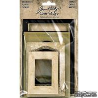 Набор рамочек Tim Holtz - Idea-Ology Baseboard Frames, 8 штук, рамки