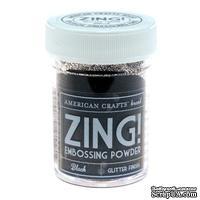 Пудра для эмбоссинга Glitter Black Zing!