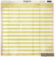 Лист бумаги от Authentique - Vivacious, 30,5x30,5см