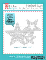 Нож для вырубки от Lil' Inker Designs - Stitched Stars Die Set