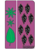 Лезвие от Cheery Lynn Designs - Build a Flower #1 Petals & Leaves - B181B