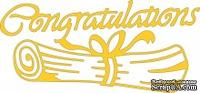 Лезвие Congratulations от Cheery Lynn Designs, 1 шт.
