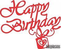 Лезвие Happy Birthdayот Cheery Lynn Designs, 1 шт.