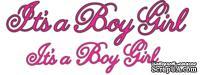 Лезвия It's a Boy Girl Phrasesот Cheery Lynn Designs, 8 шт.