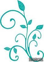 Лезвие от Cheery Lynn Designs - Fanciful Flourish Left - B292