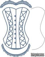 Лезвие Corset w/Angel Wing от Cheery Lynn Designs
