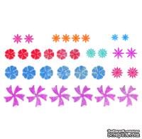 Нож для вырубки от Cheery Lynn Designs - Tiny Flower Kit (Set of 3)