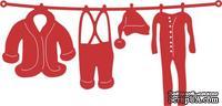 Нож для вырубки от Cheery Lynn Designs - Santa's Laundry