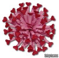 Нож для вырубки от Cheery Lynn Designs - Small Heart Lollipop Cutie Fringe