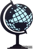 Нож для вырубки от Cheery Lynn Designs - World Atlas w/Angel Wing