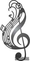 Нож для вырубки от Cheery Lynn Designs - Whistle a Happy Tune