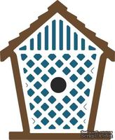 Нож для вырубки от Cheery Lynn Designs - Birdhouse with Lattice