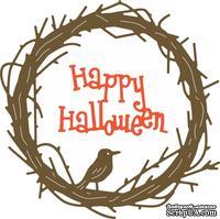 Ножи от Cheery Lynn Designs -Happy Halloween Twiggy Wreath