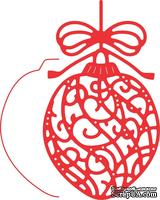 Ножи от Cheery Lynn Designs -Ornate Ornament w/Angel Wing