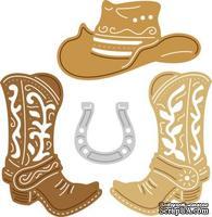 Нож для вырубки Cherry Lynn Designs - Arizona Cowboy, 4 шт.