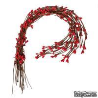 Веточка с красными почками, 40 см, 1шт.
