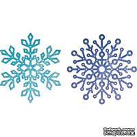 Ножи от Cheery Lynn Designs - Snowflake Set 2, 6 шт