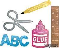Ножи от Cheery Lynn Designs - School Supplies Set, 5 шт