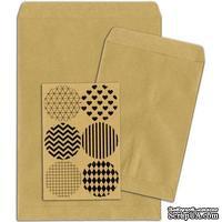 Конверты-пакетики из крафт-бумаги BoBunny - Kraft Gift Bags Plain