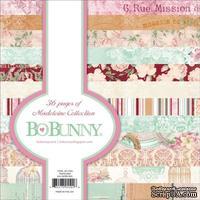 Набор двусторонней бумаги BoBunny - Madeline - Pad, размер 15х15 см, 36 листов