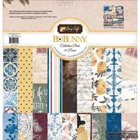 Набор двусторонней бумаги BoBunny - Rose Cafe - Collection Pack, размер 30х30 см