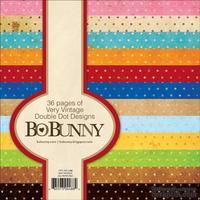Набор односторонней бумаги BoBunny - Double Dot - Very Vintage, размер 15х15 см, 36 листов