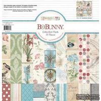 Набор двусторонней бумаги BoBunny - Garden Journal - Collection Pack, размер 30х30 см