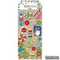 Набор пуговиц BoBunny - Dear Santa - Buttons, 21 шт