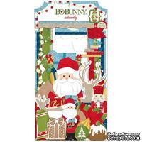 Высечки из кардстока BoBunny - Dear Santa - Noteworthy
