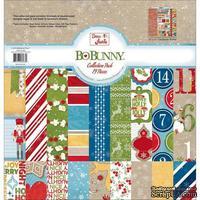 Набор двусторонней бумаги BoBunny - Dear Santa - Collection Pack, размер 30х30 см
