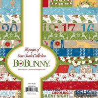 Набор двусторонней бумаги BoBunny - Dear Santa - Paper Pad, размер 15х15 см, 36 листов
