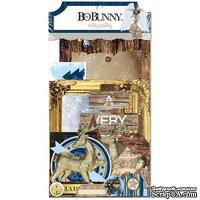 Высечки из кардстока BoBunny - Sleigh Ride - Noteworthy