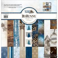 Набор двусторонней бумаги BoBunny - Sleigh Ride - Collection Pack, размер 30х30 см
