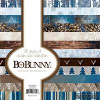 Набор двусторонней бумаги BoBunny - Sleigh Ride - Paper Pad, размер 15х15 см, 36 листов