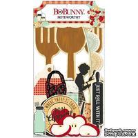 Высечки из кардстока BoBunny - Kiss The Cook - Noteworthy