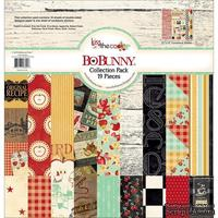Набор двусторонней бумаги BoBunny - Kiss The Cook - Collection Pack, размер 30х30 см