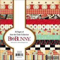 Набор двусторонней бумаги BoBunny - Kiss The Cook - Paper Pad, размер 15х15 см, 36 листов