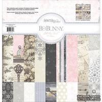 Набор двусторонней бумаги BoBunny - Winter Wishes - Collection Pack, размер 30х30 см