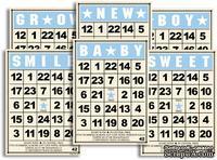 Набор карточек Jenni Bowlin Mini Bingo Cards - Baby Boy