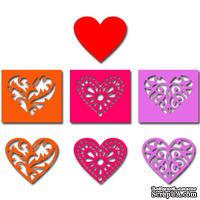 Лезвие Crafty Ann Hearts (набор)
