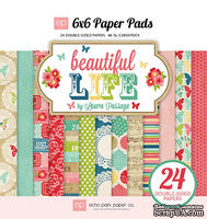 Набор бумаги от Echo Park Beautiful Life Paper Pad, 15x15 см