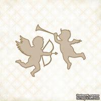 Чипборд Blue Fern Studios - Valentine Cupids