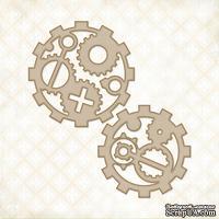 Чипборд Blue Fern Studios - Industrial Gears