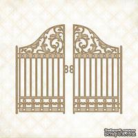 Чипборд Blue Fern Studios - Garden Gate