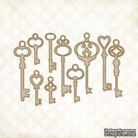 Чипборд Blue Fern Studios - Vintage Keys