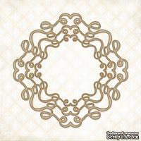 Чипборд Blue Fern Studios - Doodle Circle Frame